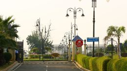 Actual View : DreamCity Entrance Gate